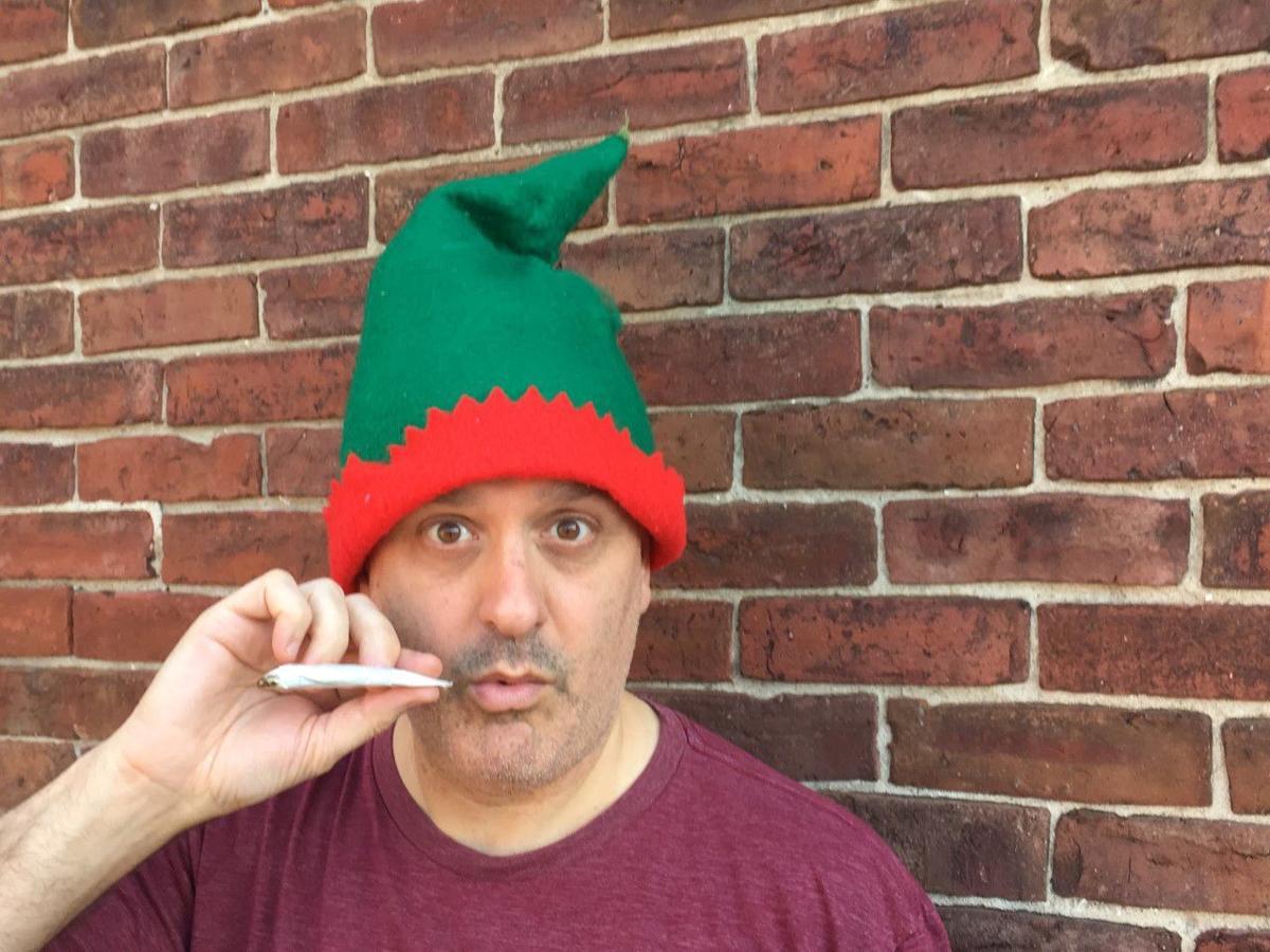 Jason Lorber helps David Sedaris skewer Santa