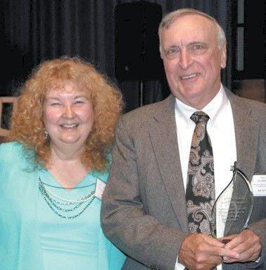 Robert Harvey of WCMH is volunteer of the month