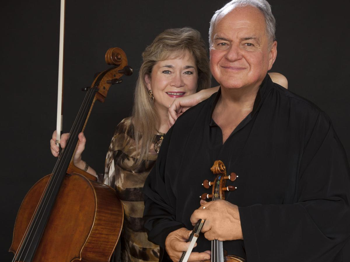 The Laredos play Brubeck: VSO introduces Chris Brubeck's 'Pas de Deux''