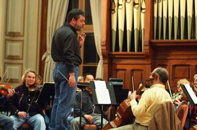 Peters makes an impressive debut as MCOS conductor