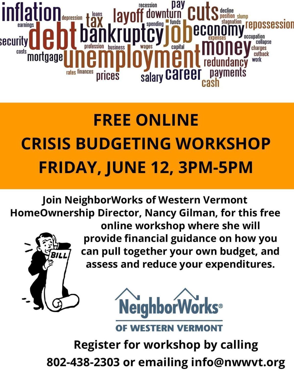 Crisis Budgeting Workshop