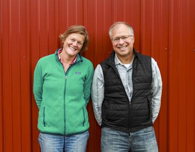 Vermont Creamery Co-Founders Bob Reese and Allison Hooper