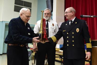 Marshfield honors longtime firefighters