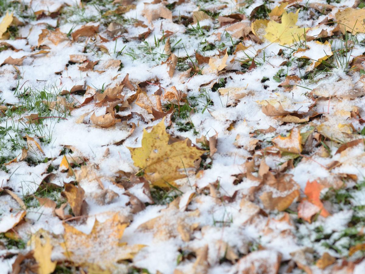 October flurries