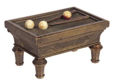 Kovels: Billiard table