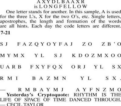 Cryptoquote