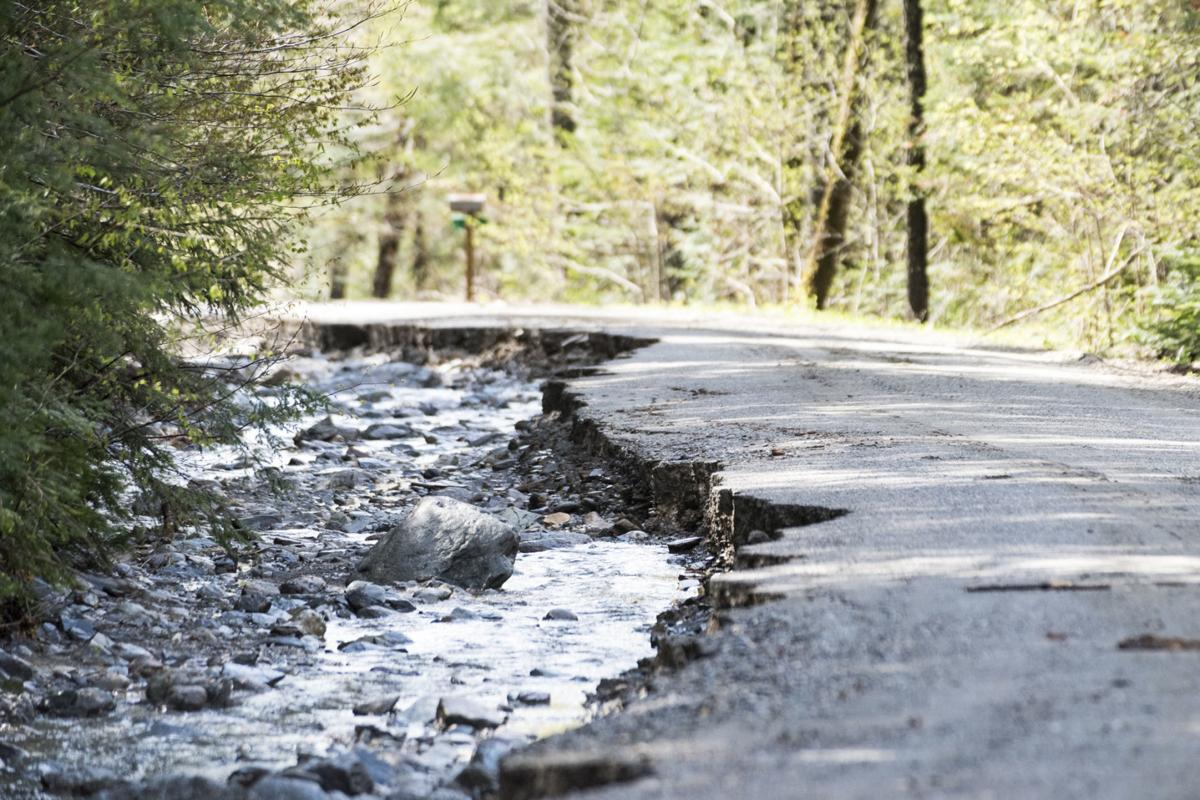 Macey Road Damage