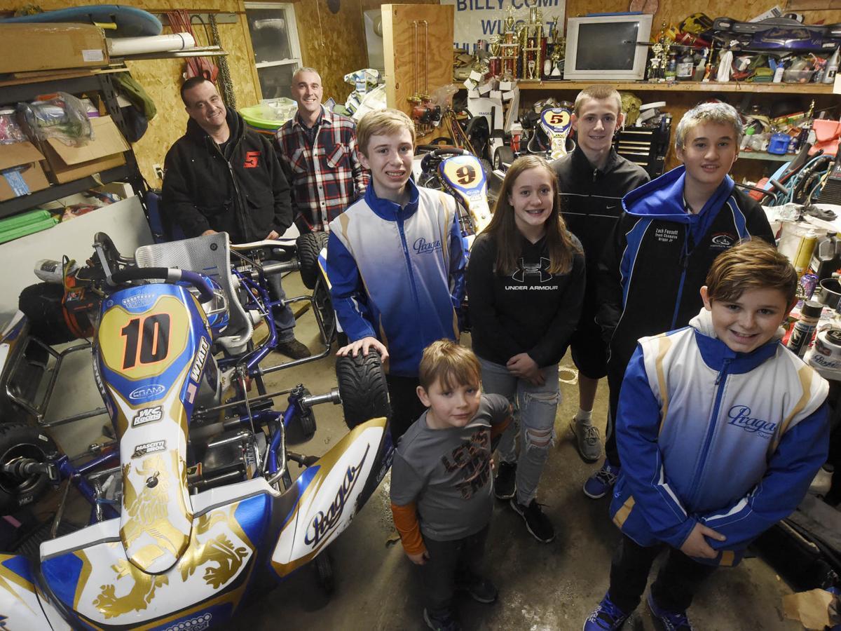 Local racers claim kart titles