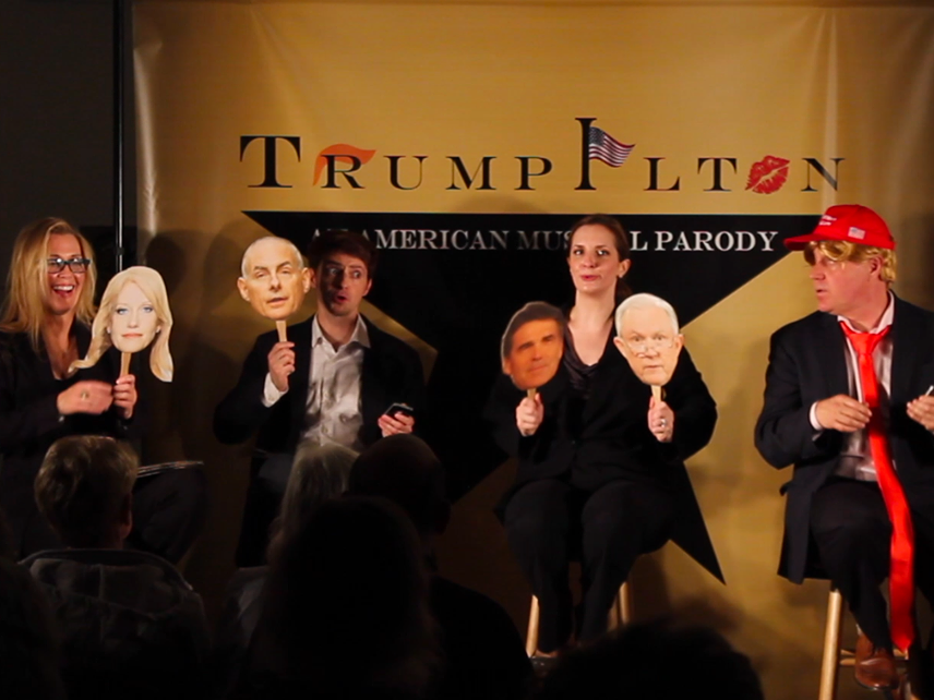 'Trumpilton: An American Musical Parody': Rutland theater heads to Broadway (almost)