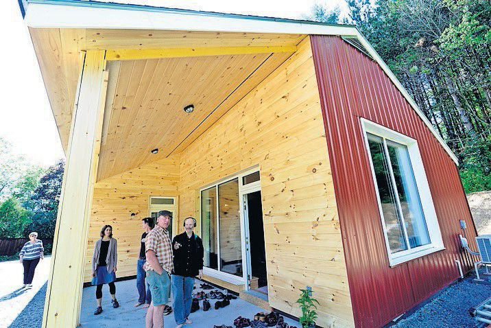 Habitat builds first 'passive' house