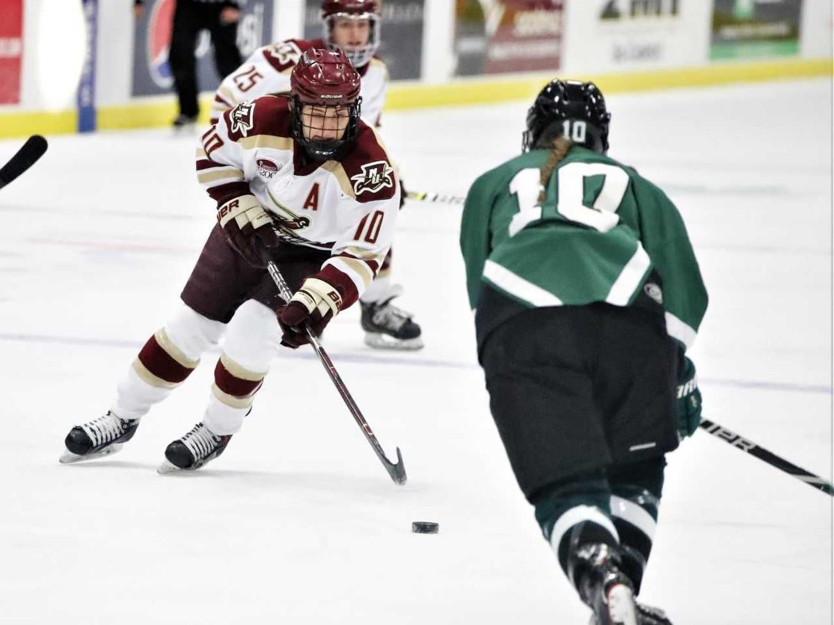 Cadets skate past Spartans, 8-0