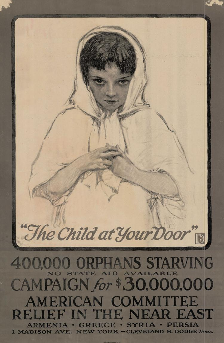 WWI Relief Poster