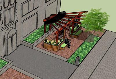 Pocket Park - rendering