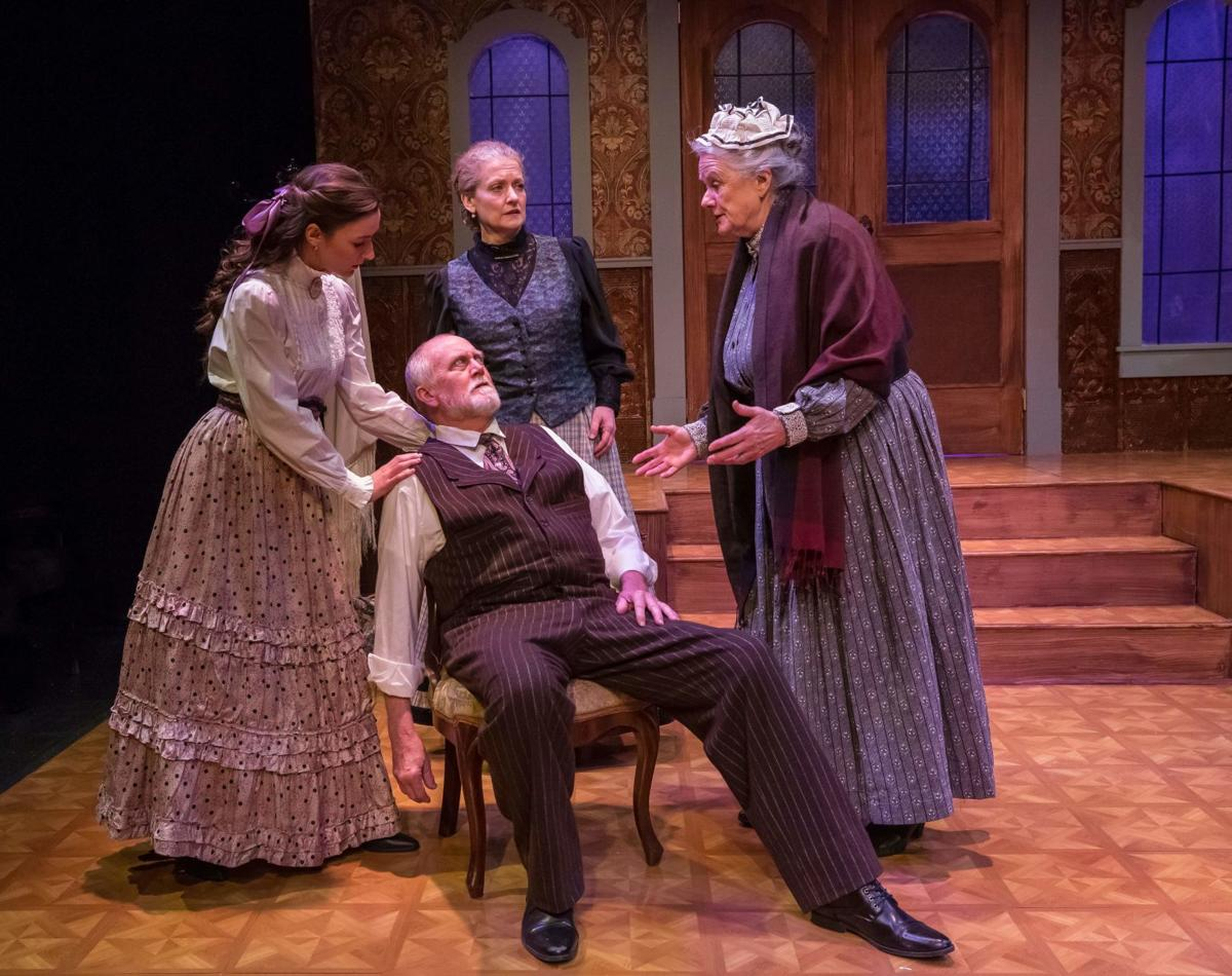 Theater Review Nora Doesn T Get Quite What She Wants Vermont Arts