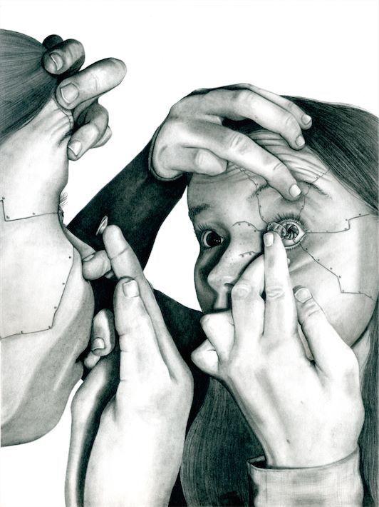 """Featured artwork: """"Optics"""" by Lucie Stein"""