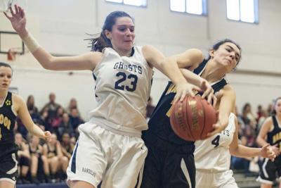 Randolph vs. Harwood girls' Basketball