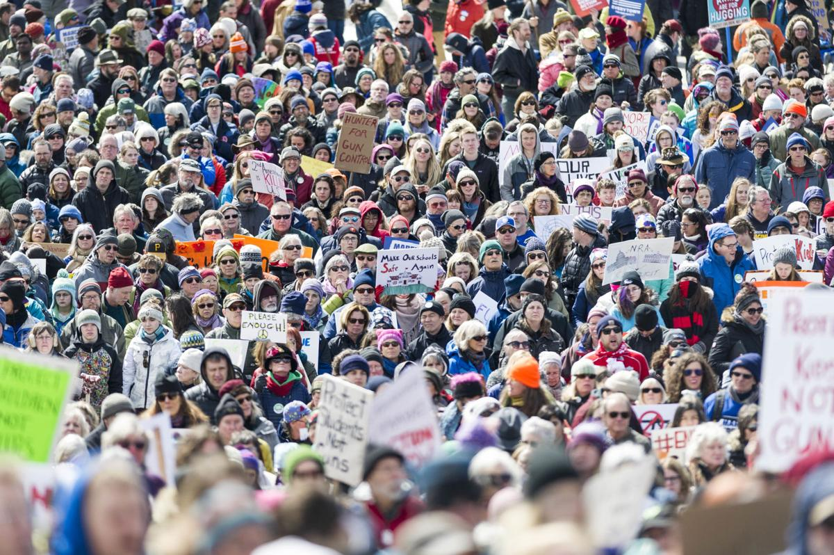 STORY AND GALLERY: March for Our Lives draws thousands