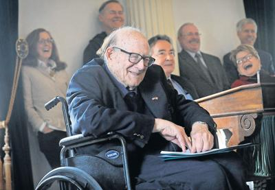 Longtime senator Bill Doyle honored