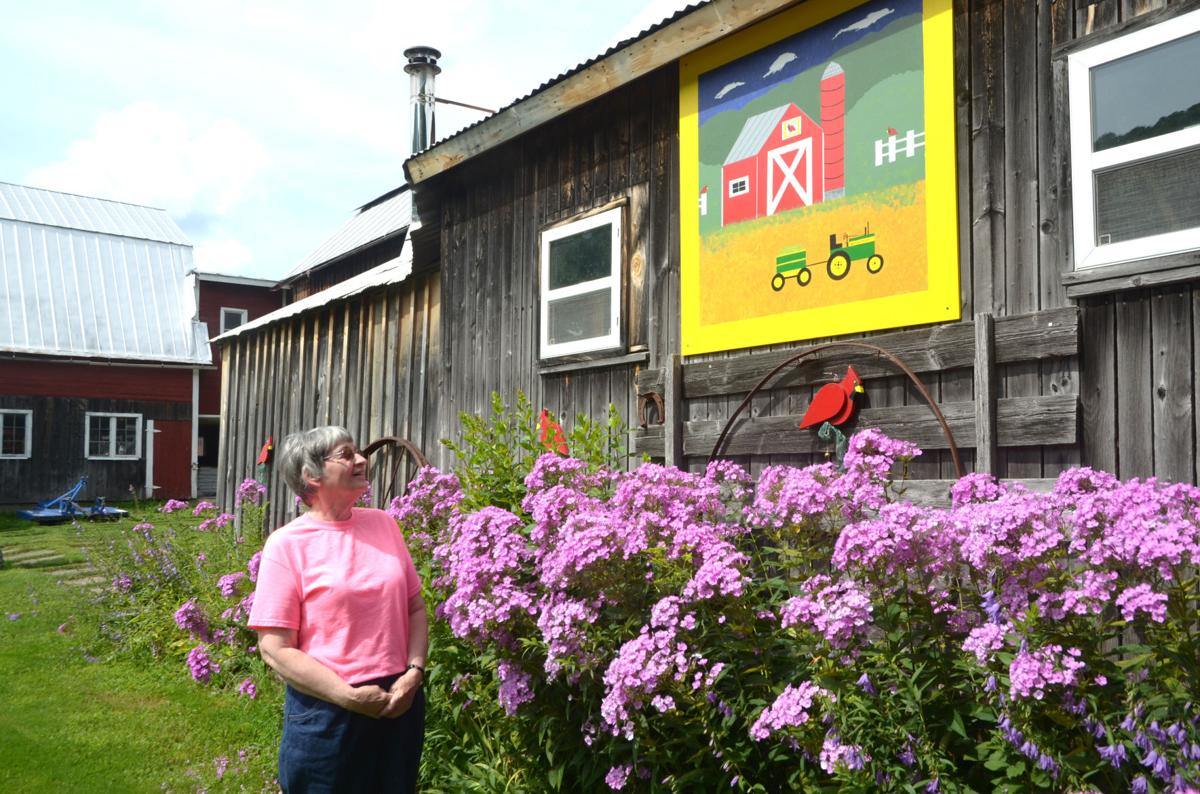 Chelsea's barn 'quilts' create a cozy sense of community