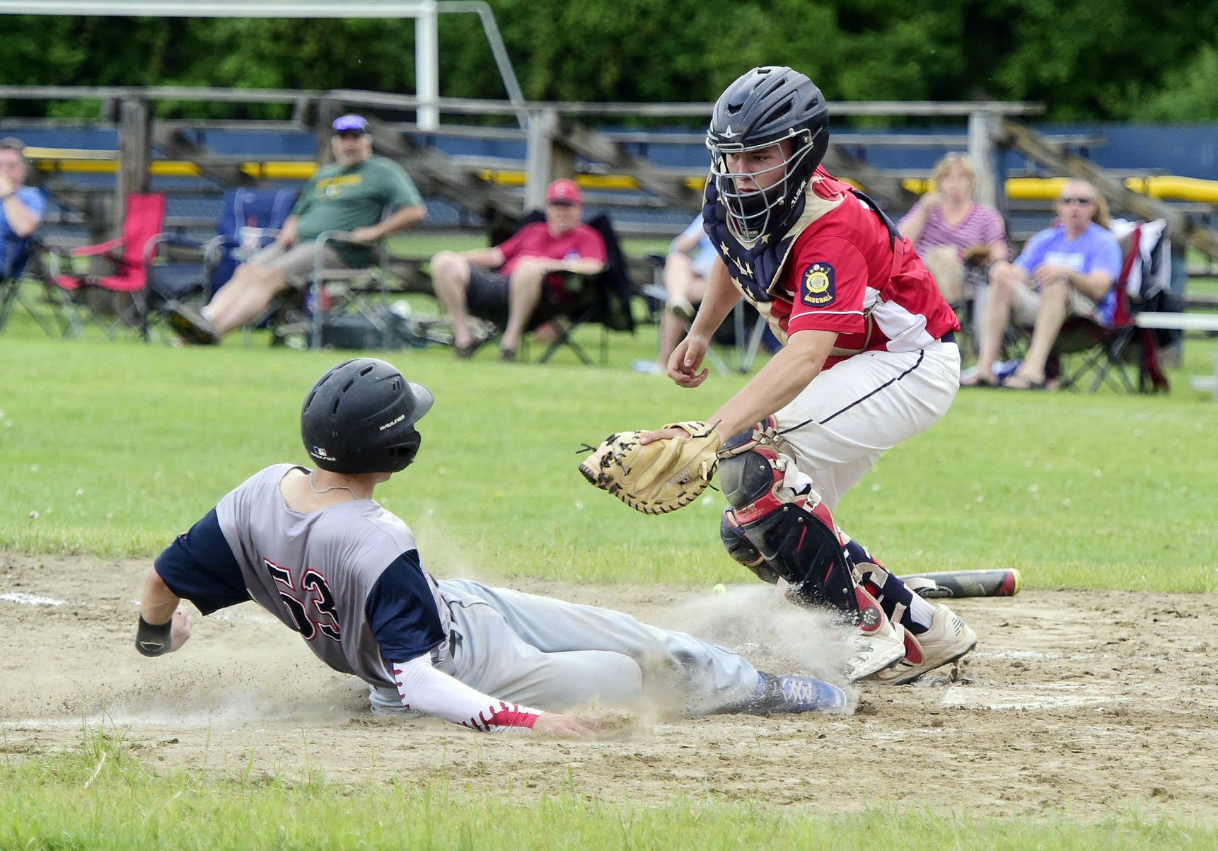Franklin fends off Barre, 7-4