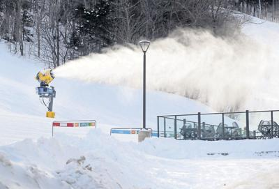 Snowguns at the heart of ski-area efficiency