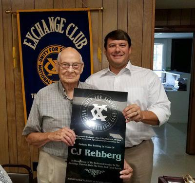 Exchange Club recognizes 60-year member