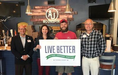 AJ Moonspin named Live Better partner