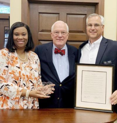TC Federal Bank celebrates Dr. Clanton's 22 years of service