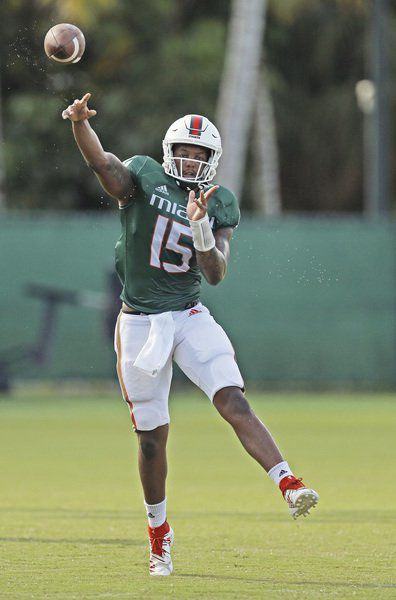 Williams wins starting QB job for Canes