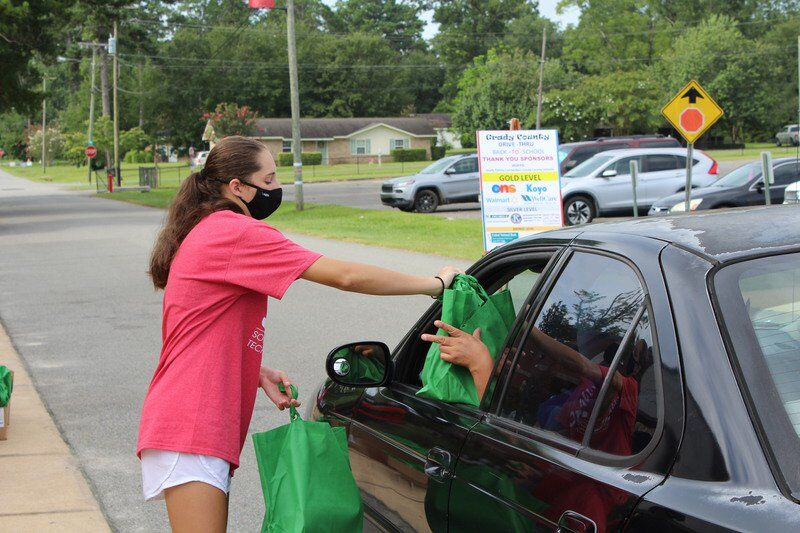 Grady Family Connection rolls on with drive-thru blitz