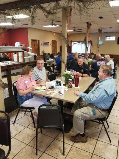Grady first responders treated to breakfast