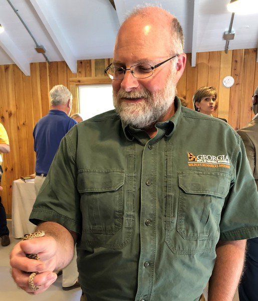 Herpetology of the Red Hills program at Pebble Hill's new learning center