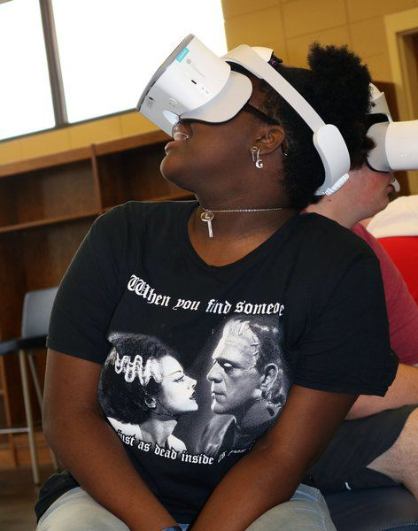 New virtual reality technology realized at TCCHS