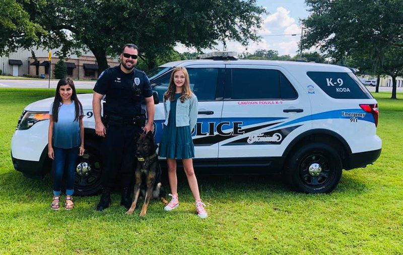 Girls' lemonade stand to help protect TPD K9s