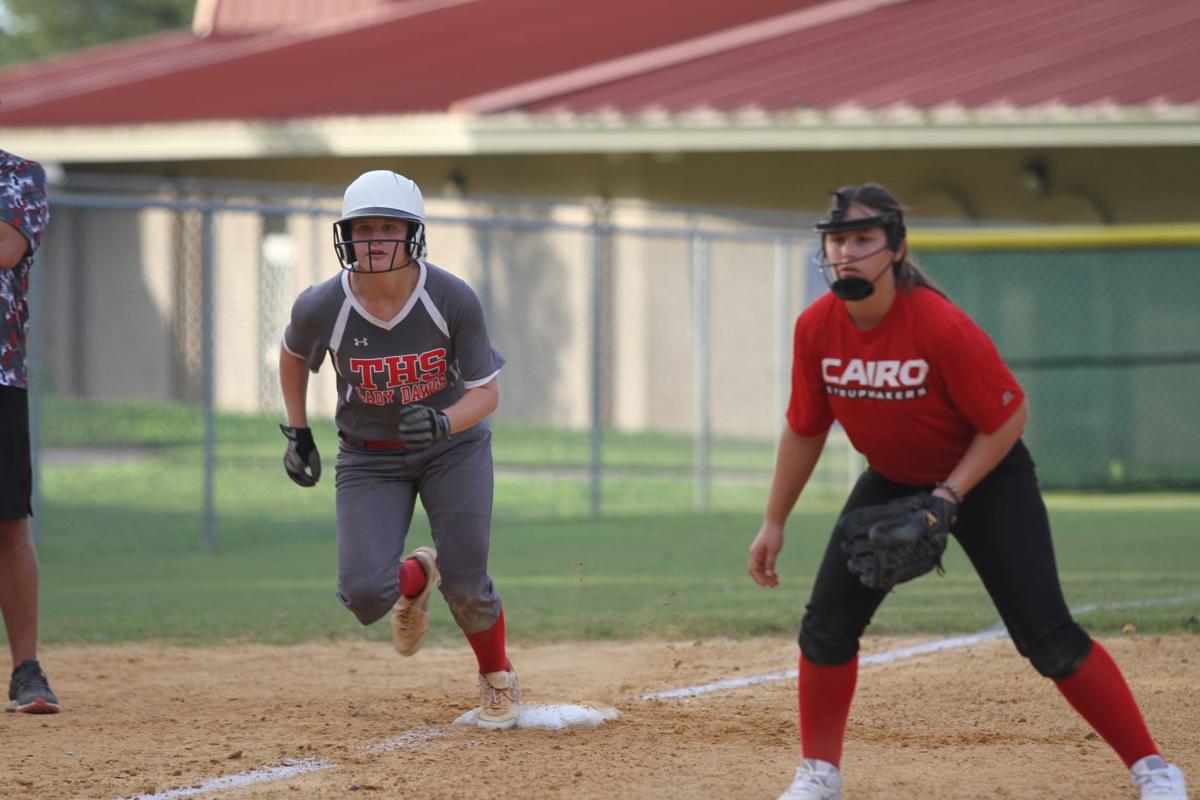 Thomasville softball defeats cairo in home opener