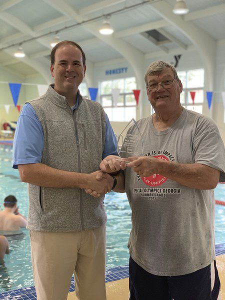 Howell named state Special Olympics outstanding volunteer