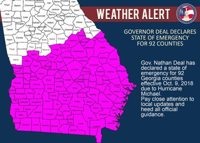 Deal declares state of emergency for Thomas, Grady