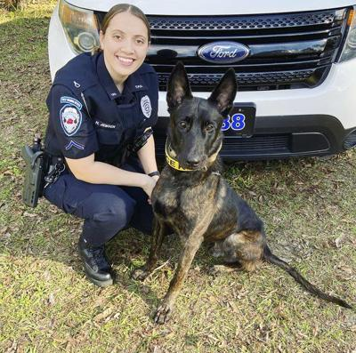 TPD welcomes first female K-9 officer