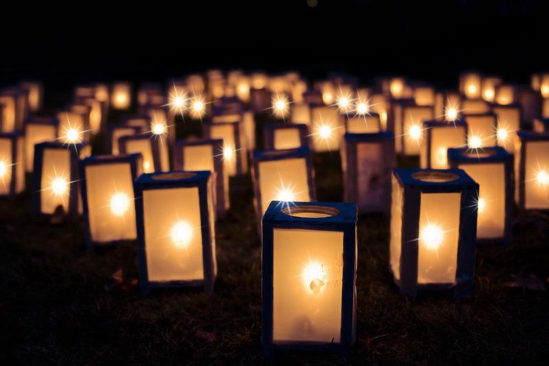 Holly Springs continues annual luminary display