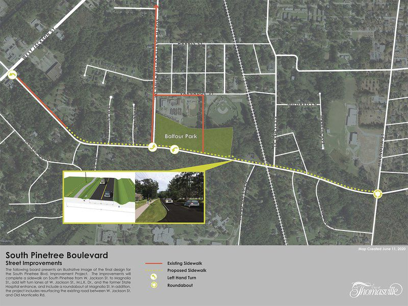 South Pinetree project bid approved, work to begin in August