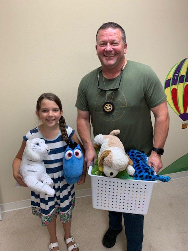 Kids dig deep to help Drug Free Grady's cause