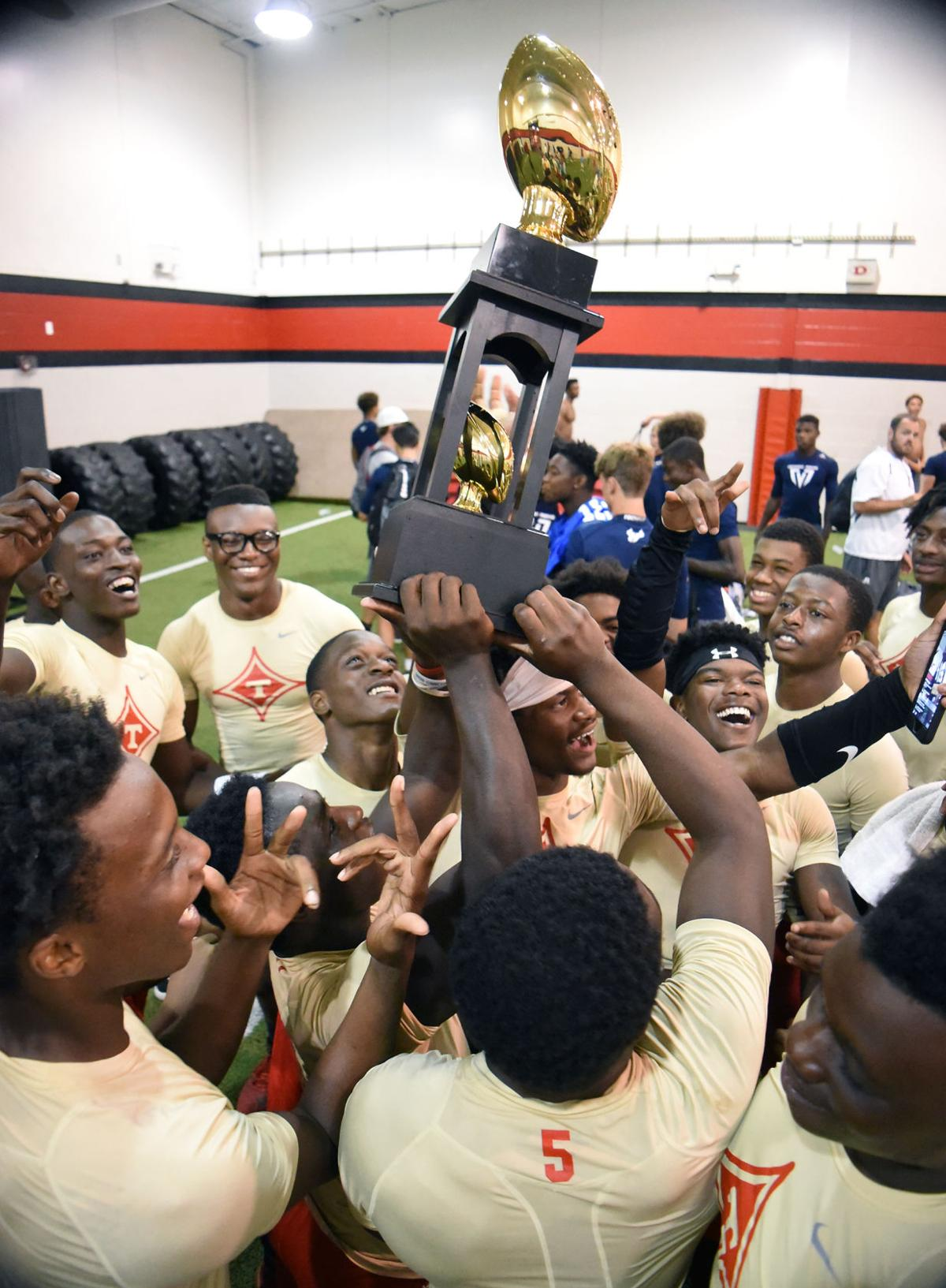 Thomasville football wins southeastern 7 on 7 championship