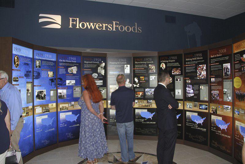 Flowers history exhibit opens in landmark downtown building