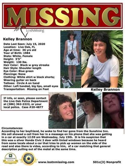 Kelley Brannon missing person