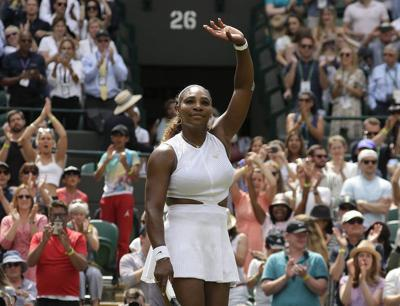 Gauff's run ends, Serena marches on