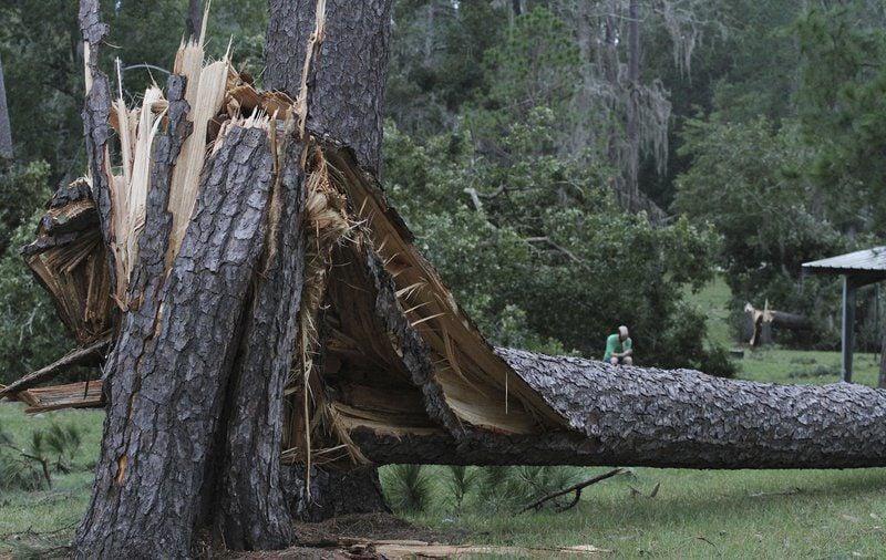 Storm damage tally underway