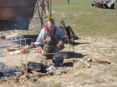 Annual Whigham demonstration shines light on Creek Indian culture