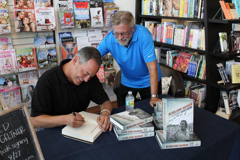 Ted Geltner hosts book signing dowtown