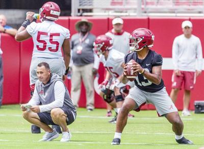 Sarkisian inherits a loaded Alabama offense