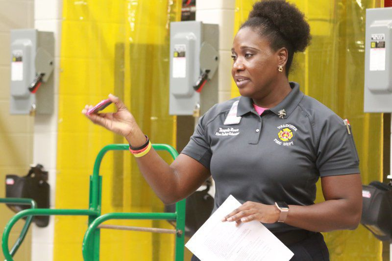 Blazing the Way: Rowe a driving force in fire education